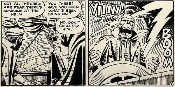 Steve Ditko - Horror page