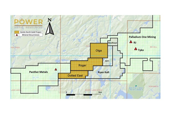 Power Metal (POW.L)  Acquisition – Canadian Gold Exploration Properties