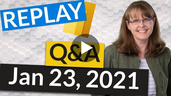 REPLAY Power BI Deployment, Governance and Q&A with Melissa Coates