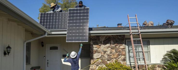 Stigende beskæftigelse i solsektor