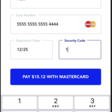 React Native: building a credit card form
