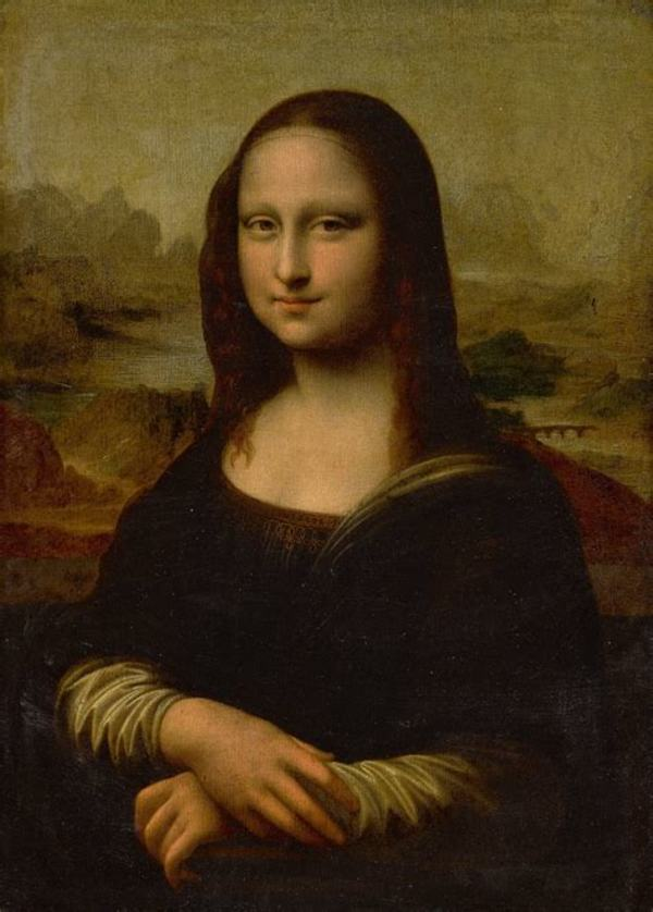 "Mona Lisa, Leonardo da Vinci, circa 1503-1506, is ""the best known, the most visited, the most written about, the most sung about, the most parodied work of art in the world""."