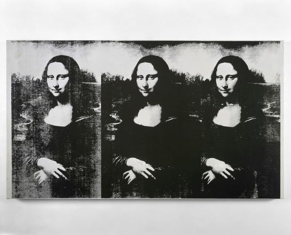 Andy Warhol; Triple Mona Lisa, 1963.Photo: © 2019 The Andy Warhol Foundation for the Visual Arts, Inc