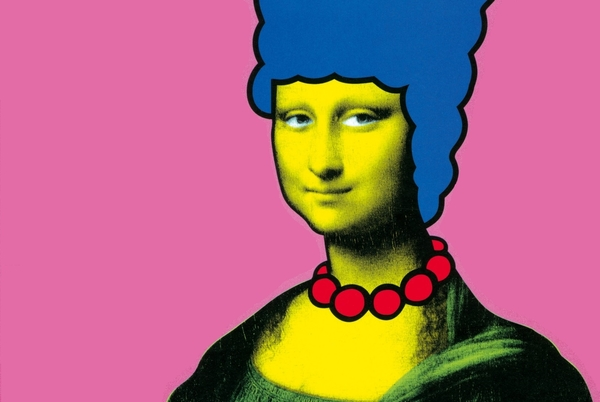 Mona Lisa Marge. Is this art?