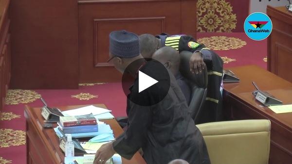 Parliament goes 'black' in honour of Rawlings