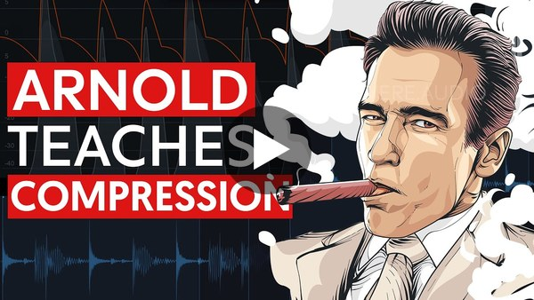 Arnold Schwarzenegger Teaches You Compression (Audio Compression Explained)