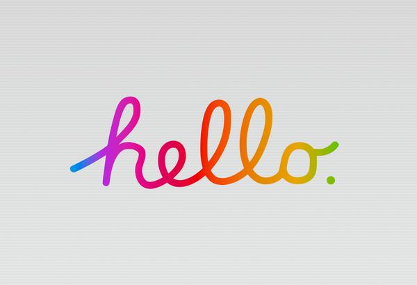 Hello Wallpaper • Basic Apple Guy