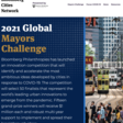 2021 Global Mayors Challenge - $15m up for grabs!