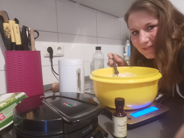 OZ-Volontärin Maria Baumgärtel verrät ihr liebstes Waffel-Rezept.