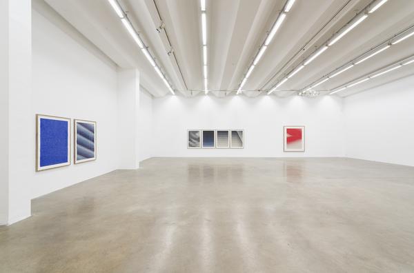 Caroline Kryzecki, exhibition view COUNTING SILENCE, Sexauer Gallery, Berlin 2020