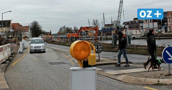 Wegen Bauarbeiten: Fahrspuren auf Hansering in Greifswald werden reduziert