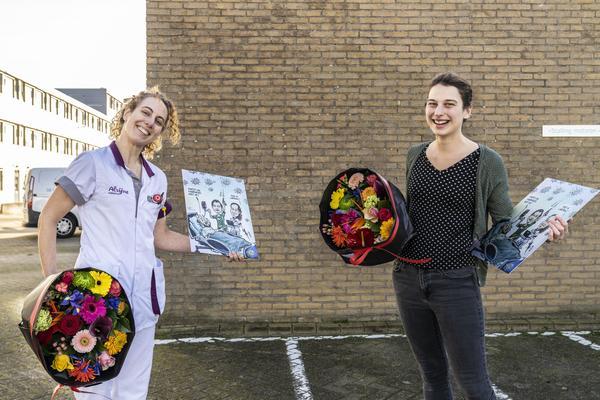 Verpleegkundige Kirsten Schoenmaker winnaar Persoon van het Jaarverkiezing