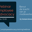 Reclame: Gratis webinar Employee Advocacy
