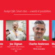 Analyst Q&A: Smart cities – a world of possibilities