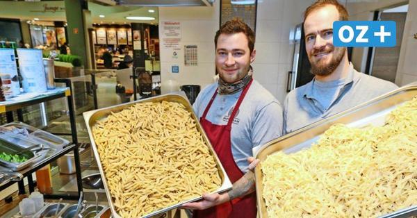 Gyros-Pasta und Schmorkohl-Nudeln: Die verrückten Lockdown-Kreationen des Rostocker Pastaman