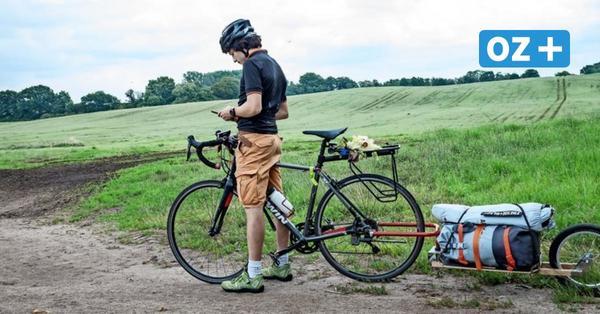 Ein Fahrradanhänger für alle Fälle: So macht ein Wismarer Start-up das Leben mit Zweirad leichter