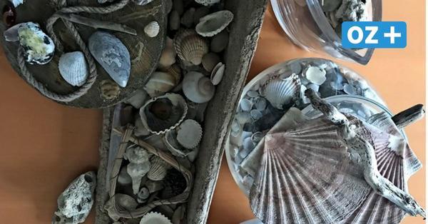Basteln mit Strandgut aus Stahlbrode