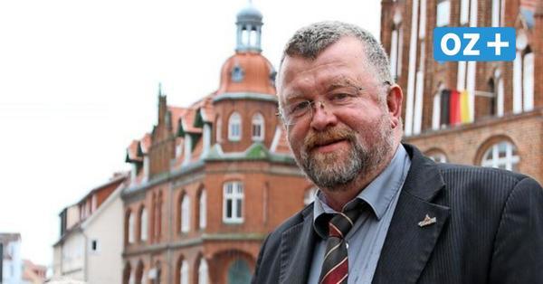 """Trauer um Grimmens Bürgermeister Benno Rüster: """"Einfach Benno reicht"""""""