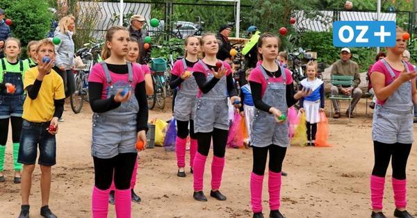 Stralsunder Kinderzirkus ruft zum Flashmob auf: So werden Sie den Homeoffice-Speck los