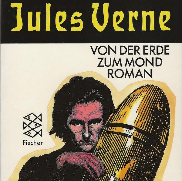 """Cover des Romans """"Von der Erde zum Mond"""". (Foto: Fischer Verlag)"""