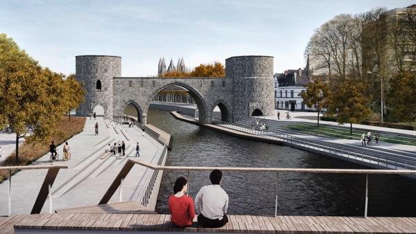 Chantier du pont des Trous - Pont des trous wordt bouwwerf
