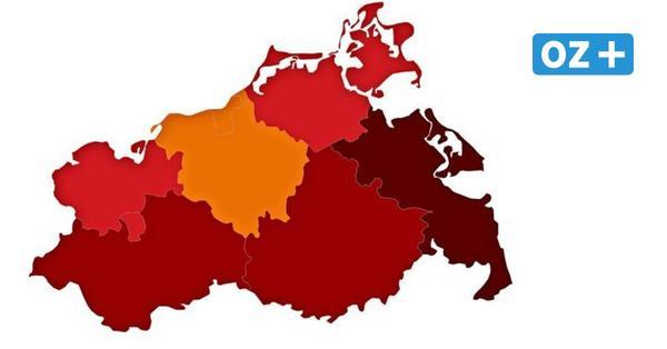 So hoch ist die Inzidenz aktuell in den Städten und Landkreisen von MV