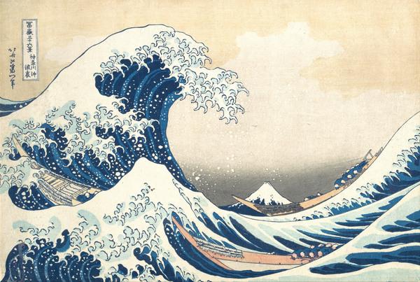 """""""Die große Welle vor Kanagawa"""" - Vom Souvenir zur Weltikone"""