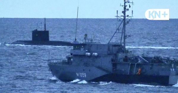 Geheimauftrag für Marine aus Kiel: Russisches U-Boot in der Ostsee beschatten