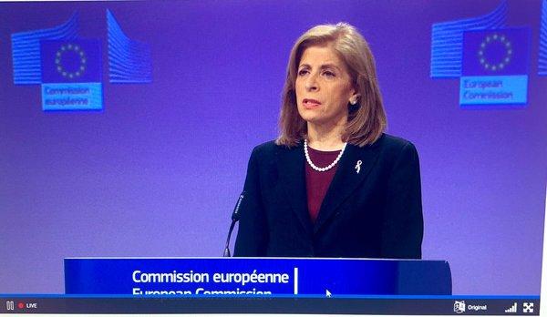 Eurocommissaris Stella Kyriakides