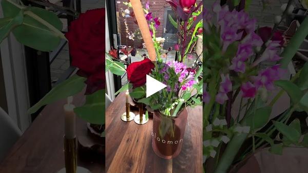 Bloomon Instagram Effect with flowers in AR