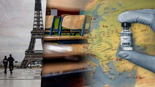 Schulen, Impfen, Ausgangssperren: So ist die Corona-Lage in den europäischen Ländern