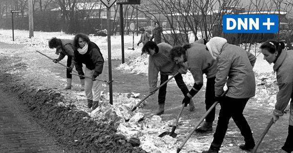 Extrem-Winter 1987: Als Dresden und die DDR beinahe einfroren