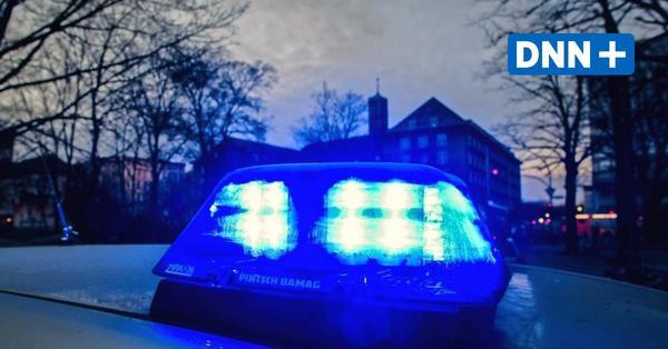 Mann will eigene Wohnung in Dresden-Weißig anzünden