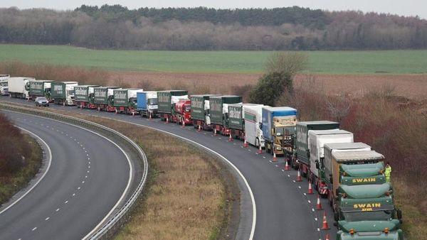 Trotz Brexit-Handelsabkommen: Erhebliche Störungen im Warentransport mit Großbritannien
