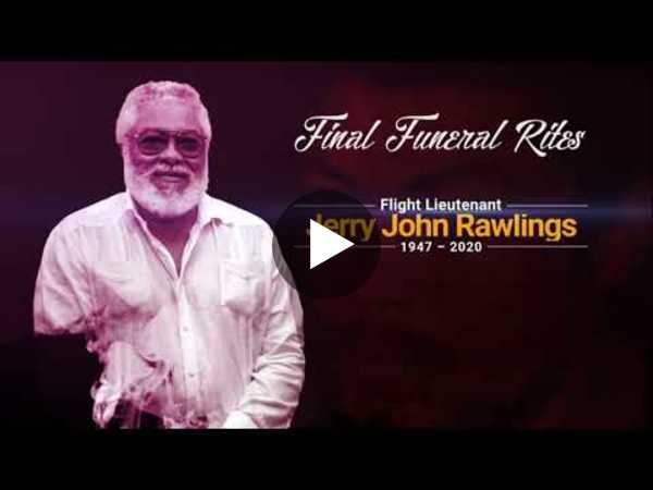 GhanaWeb TV Live:  Final funeral rites of Former President JJ Rawlings - Day 4
