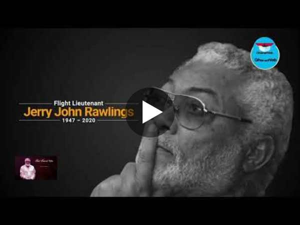 GhanaWeb TV Live:  Final funeral rites of Former President JJ Rawlings - Day 3