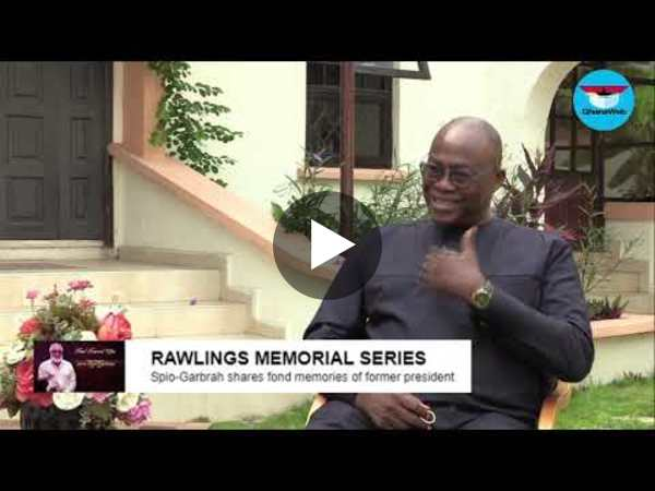 My 5-minute flying experience, work with Rawlings - Spio eulogises former boss