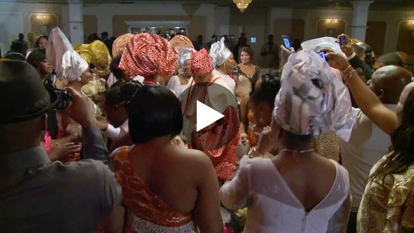 Toronto Nigerian Wedding Entrance & Money Dance | Traditional Outfits | GTA Videography Photography