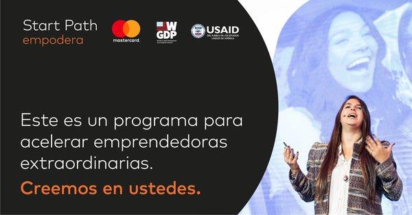 ¡Nos sumamos con @MastercardCol y su gran programa @StartPath_Co! 🔥Un espacio de aceleración de empresas en etapa temprana, centrado en promover el emprendimiento liderado por mujeres colombianas 👩🏻💼🙌🏼
