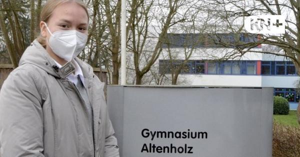 Altenholz: In Corona-Zeiten macht Mia Lena Hoffmann Abitur am Gymnasium