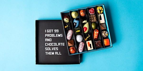 Deze chocolaatjes zijn te mooi om op te eten