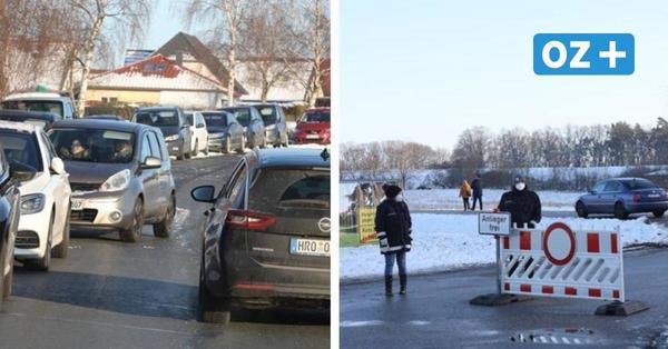 Ansturm auf die Kösterbecker Berge: Polizei greift bei Schnee-Spaß nahe Rostock ein
