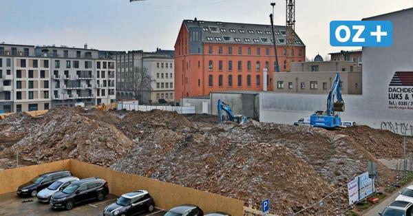 Baustelle am Glatten Aal in Rostock: Welche Schätze unter der Erde liegen könnten