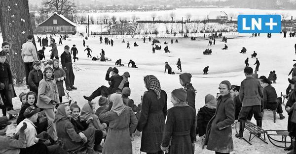 Bilder und Erinnerungen aus Lübeck: Als der Winter noch Winter war