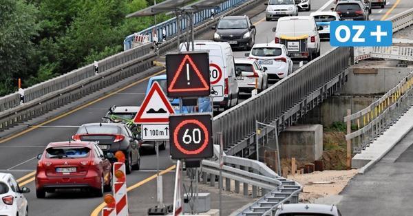 Sperrungen der A20 bei Tribsees: Bauarbeiten haben am Montag begonnen