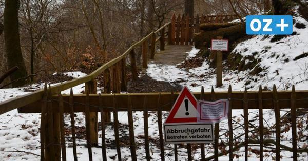 Nach Abriss: Abstieg am Königsstuhl auf Rügen laut Gutachten doch möglich