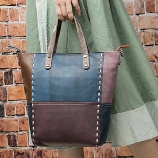 Vintage shopper handbags