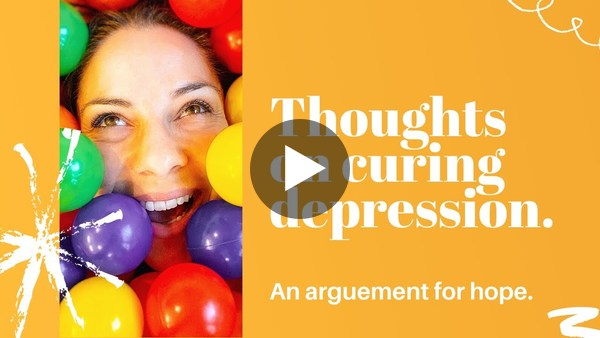 Resources & thoughts on curing depression and recovering after antidepressants.