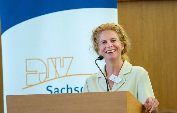 Ine Dippmann, Vorsitzende des DJV Sachsen. Foto: Jürgen Männel