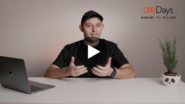 Fáris Ismail Vás zve na JavaScript Days 2021
